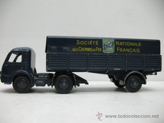 Coches a escala: CAMION TRAILER TRACTEUR PANHARD 1:43 DINKY TOYS - Foto 3 - 27875658
