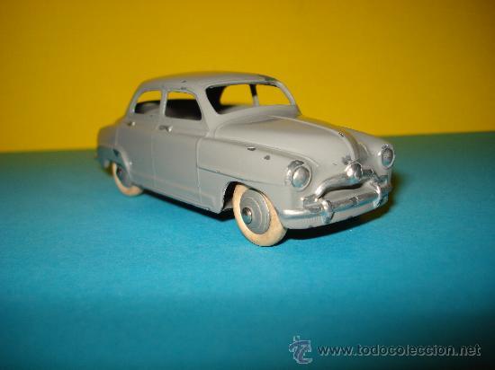 ANTIGUO SIMCA 9 ARONDE 1/43 DE DINKY TOYS Nº 24 U MADE IN FRANCE POR MECCANO. AÑO 1950S.. (Juguetes - Coches a Escala 1:43 Dinky Toys)