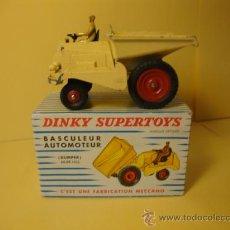 Model Cars - 887 BASCULEUR AUTOMOTEUR DUMPER MUIR-HILL WITH ITS ORIGINAL BOX DINKY TOYS AÑOS 1950-60 - 28915800