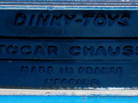 Coches a escala: Autocar Chausson ref. 29F fabricado en metal esc. aprox. 1/50 Dinky Toys France, original años 50. - Foto 7 - 29025770