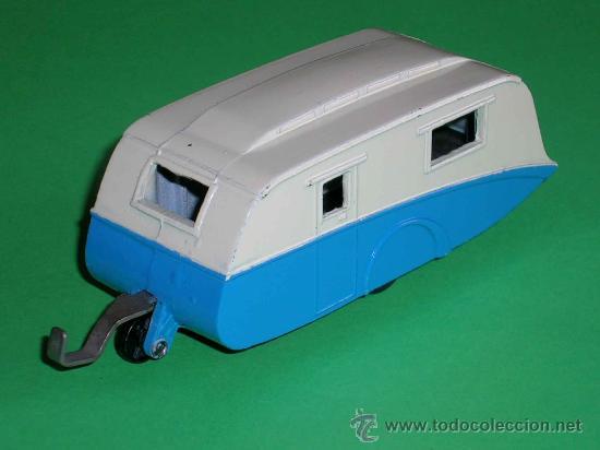 Coches a escala: Caravana ref 190 fabricada en metal esc. aprox. 1/43 Dinky Toys, original años 50. Excelente. - Foto 2 - 29026963