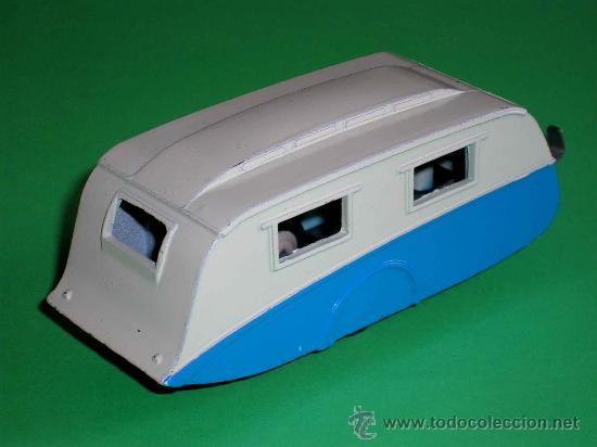 Coches a escala: Caravana ref 190 fabricada en metal esc. aprox. 1/43 Dinky Toys, original años 50. Excelente. - Foto 3 - 29026963