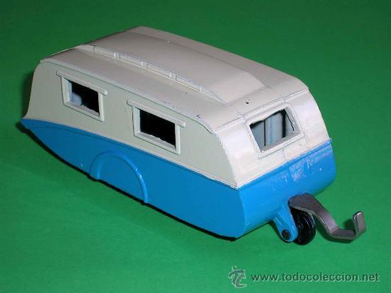 Coches a escala: Caravana ref 190 fabricada en metal esc. aprox. 1/43 Dinky Toys, original años 50. Excelente. - Foto 4 - 29026963