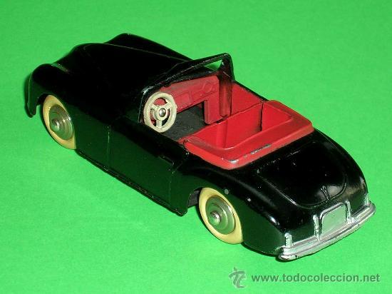 Coches a escala: Simca 8 Sport ref. 24S, fabricado en metal esc. 1/43 Dinky Toys, original años 50. Excelente. - Foto 3 - 29027112