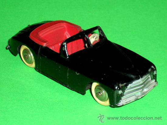 Coches a escala: Simca 8 Sport ref. 24S, fabricado en metal esc. 1/43 Dinky Toys, original años 50. Excelente. - Foto 5 - 29027112