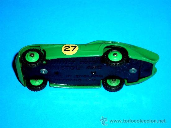 Coches a escala: Bristol 450 ref. 163, fabricado en metal esc. 1/43 Dinky Toys, original años 50. Excelente. - Foto 6 - 29027170