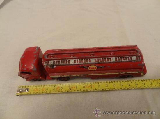 Coches a escala: DINKY TOYS. Nº 32C 1954 TRACTEUR PANHARD ESSO MECCANO MADE IN FRANCE - Foto 2 - 31179953