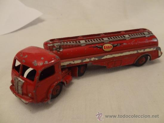 Coches a escala: DINKY TOYS. Nº 32C 1954 TRACTEUR PANHARD ESSO MECCANO MADE IN FRANCE - Foto 4 - 31179953