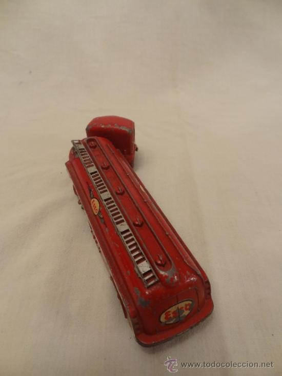 Coches a escala: DINKY TOYS. Nº 32C 1954 TRACTEUR PANHARD ESSO MECCANO MADE IN FRANCE - Foto 5 - 31179953
