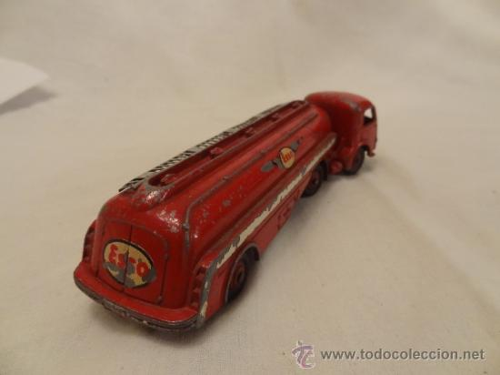 Coches a escala: DINKY TOYS. Nº 32C 1954 TRACTEUR PANHARD ESSO MECCANO MADE IN FRANCE - Foto 6 - 31179953