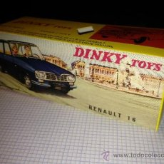 Coches a escala - CAJA VACIA DINKY TOYS: Nº 537 RENAULT 16. REPRO MADE IN FRANCE - 32980274