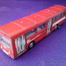 Coches a escala: DINKY TOYS AEC SINGLE DECK BUS RED ARROW. Lote 33130619