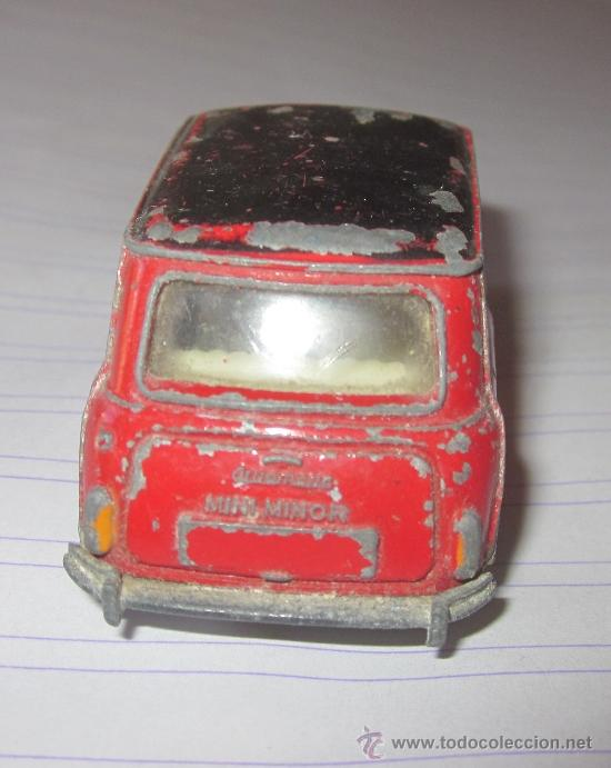 Coches a escala: MINI MINOR,DINKY TOYS,MECCANO LTD,ESC.1/43 - Foto 4 - 33695384