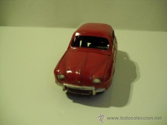 Coches a escala: DINKY TOYS-RENAULT DAUPHINE -MADE IN FRANCE -MECCANO - Foto 3 - 37505640