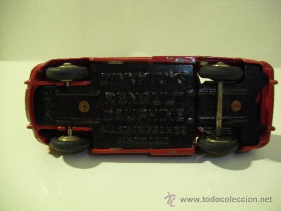 Coches a escala: DINKY TOYS-RENAULT DAUPHINE -MADE IN FRANCE -MECCANO - Foto 5 - 37505640