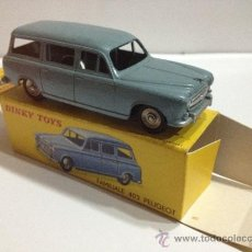 Coches a escala - DINKY TOYS 24F PEUGEOT 403 FAMILIAR. Completo VINTAGE de 1959. MADE IN FRANCE: . VER FOTOS - 37547123