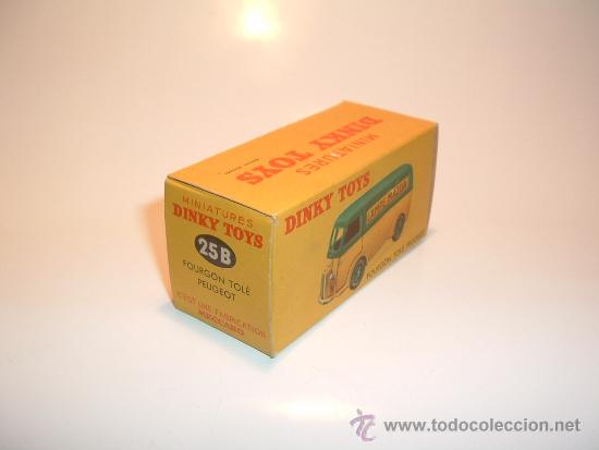 Coches a escala: PEUGEOT MAZDA VAN, DINKY TOYS, MECCANO FRANCIA, 1953, REF. 25B. TODO ORIGINAL, MINT IN BOX. - Foto 8 - 38194370