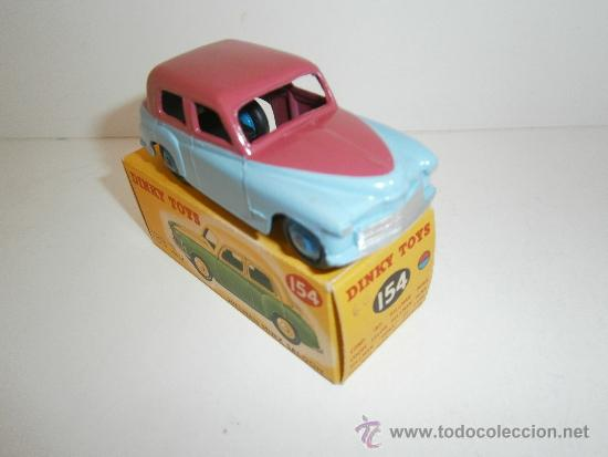 Coches a escala: HILLMAN MINX SALOON, DE DINKY TOYS, REF. 154-G, ORIGINAL 1954, MINT IN BOX. - Foto 3 - 38407127
