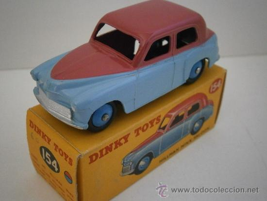 Coches a escala: HILLMAN MINX SALOON, DE DINKY TOYS, REF. 154-G, ORIGINAL 1954, MINT IN BOX. - Foto 7 - 38407127