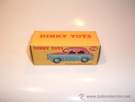 Coches a escala: HILLMAN MINX SALOON, DE DINKY TOYS, REF. 154-G, ORIGINAL 1954, MINT IN BOX. - Foto 13 - 38407127