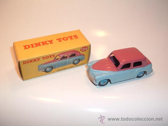 Coches a escala: HILLMAN MINX SALOON, DE DINKY TOYS, REF. 154-G, ORIGINAL 1954, MINT IN BOX. - Foto 14 - 38407127