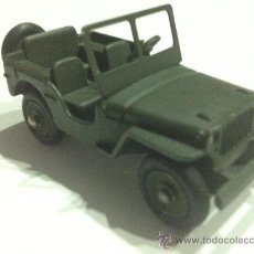 Model Cars - Antiguo JEEP DINKY TOYS FRANCIA Nº 80B . Fabricado en 1958. - 38458658