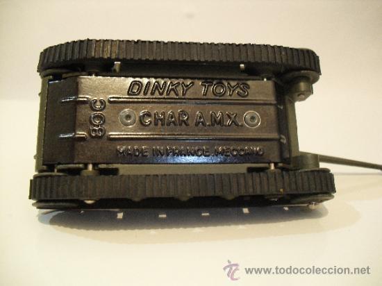 Coches a escala: DINKY TOYS 8O C -CHAR A.M.X-MECCANO FRANCE- - Foto 9 - 38585725