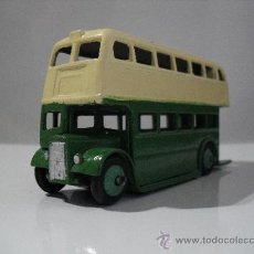 Coches a escala: DINKY TOYS -MECCANO LTD AUTOBUS DE DOBLE PISO - MADE IN ENGLAND-METAL-ESC 1/43. Lote 38876009