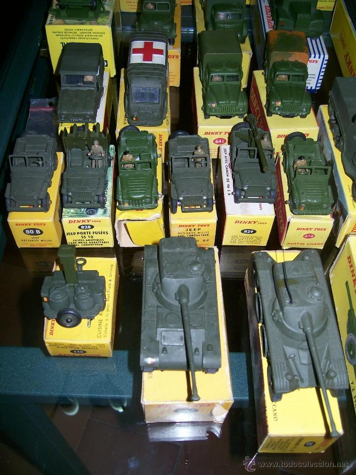 Coches a escala: Dinky Toys. Meccano. Espectacular coleccion Dinky Toys Militar. - Foto 2 - 40468852