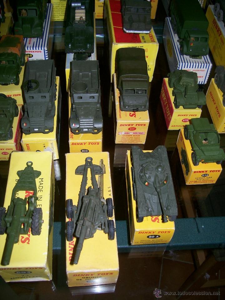Coches a escala: Dinky Toys. Meccano. Espectacular coleccion Dinky Toys Militar. - Foto 3 - 40468852