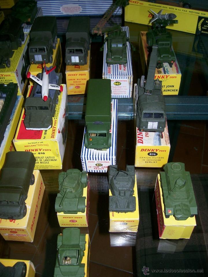 Coches a escala: Dinky Toys. Meccano. Espectacular coleccion Dinky Toys Militar. - Foto 4 - 40468852