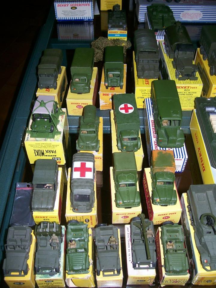 Coches a escala: Dinky Toys. Meccano. Espectacular coleccion Dinky Toys Militar. - Foto 5 - 40468852