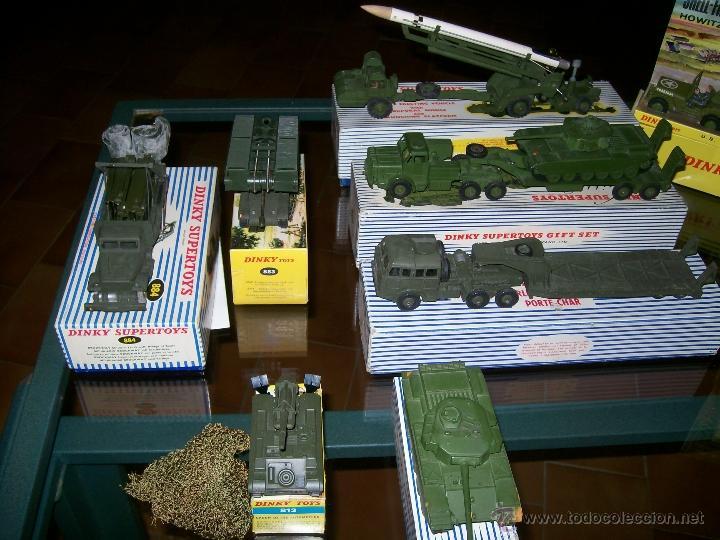Coches a escala: Dinky Toys. Meccano. Espectacular coleccion Dinky Toys Militar. - Foto 6 - 40468852