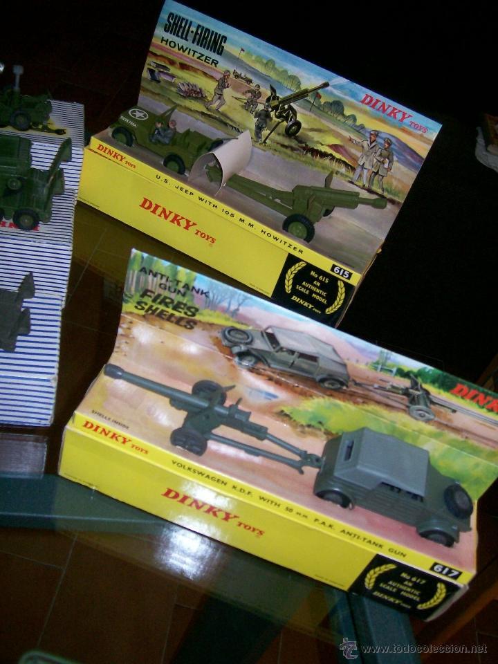 Coches a escala: Dinky Toys. Meccano. Espectacular coleccion Dinky Toys Militar. - Foto 7 - 40468852