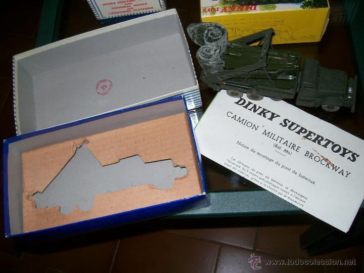 Coches a escala: Dinky Toys. Meccano. Espectacular coleccion Dinky Toys Militar. - Foto 8 - 40468852