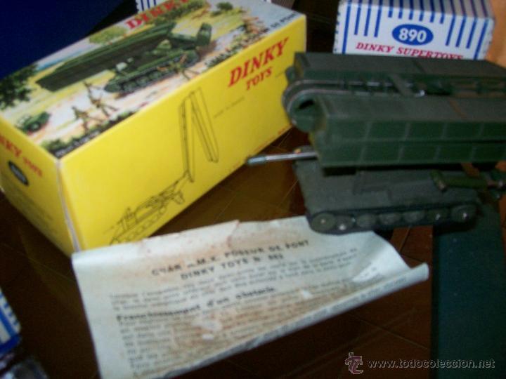 Coches a escala: Dinky Toys. Meccano. Espectacular coleccion Dinky Toys Militar. - Foto 10 - 40468852