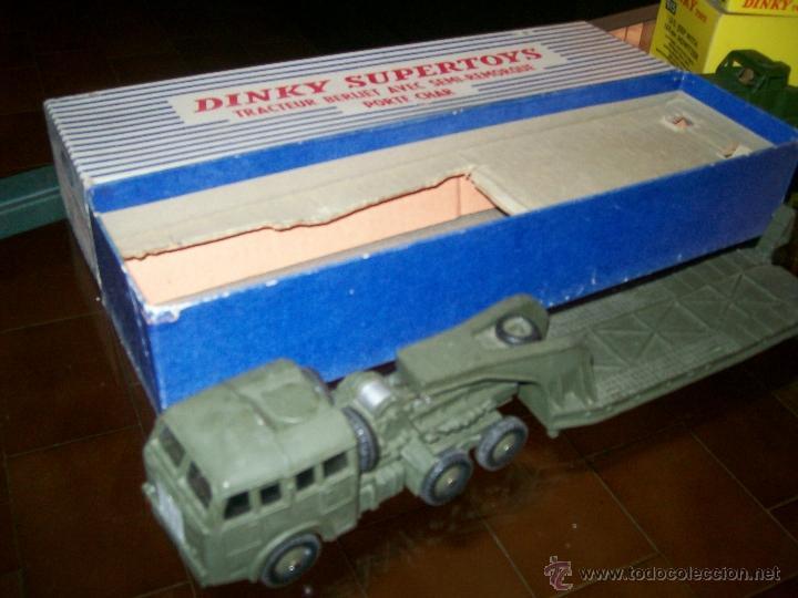 Coches a escala: Dinky Toys. Meccano. Espectacular coleccion Dinky Toys Militar. - Foto 12 - 40468852
