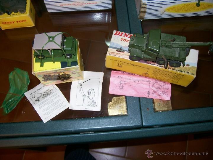 Coches a escala: Dinky Toys. Meccano. Espectacular coleccion Dinky Toys Militar. - Foto 15 - 40468852