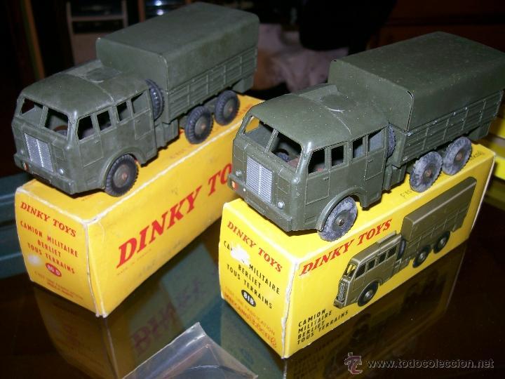 Coches a escala: Dinky Toys. Meccano. Espectacular coleccion Dinky Toys Militar. - Foto 17 - 40468852
