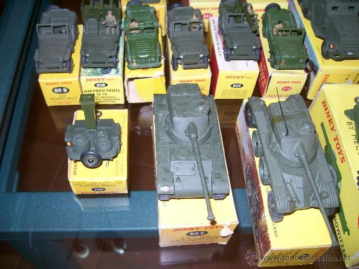 Coches a escala: Dinky Toys. Meccano. Espectacular coleccion Dinky Toys Militar. - Foto 19 - 40468852