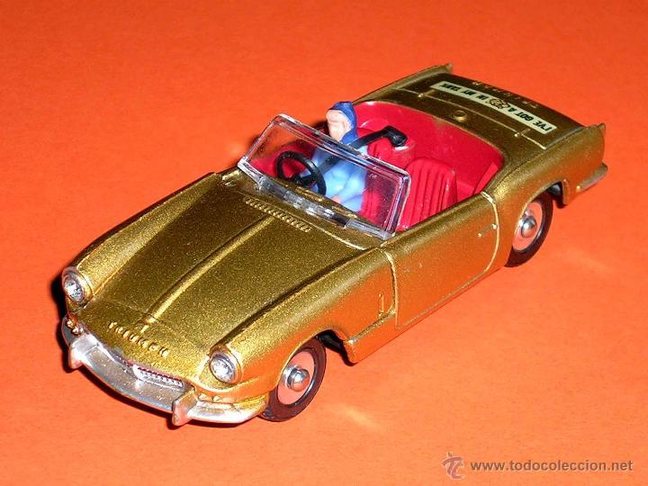 TRIUMPH SPITFIRE 114, FABRICADO EN METAL, ESC. 1/43, DINKY TOYS ENGLAND, ORIGINAL AÑOS 60. (Juguetes - Coches a Escala 1:43 Dinky Toys)