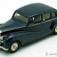 Auto in scala: ROLLS ROYCE SILVER WRAITH DINKY TOYS MECCANO 1/43 MADE IN FRANCE REPINTADO. Lote 119198568
