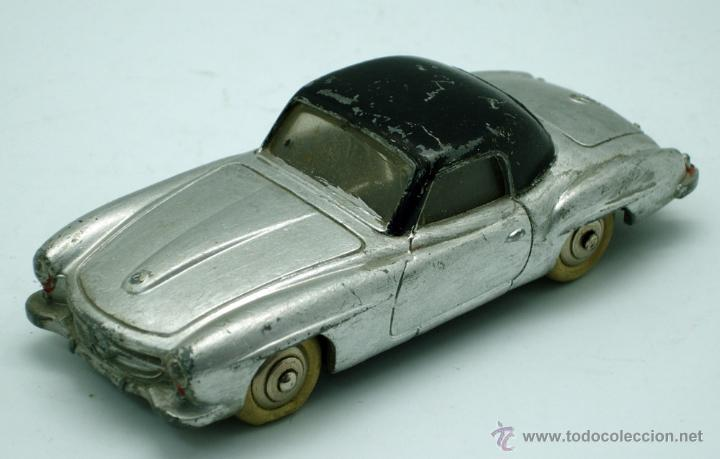 Coches a escala: Mercedes 190 SL Dinky Toys Meccano 1/43 Made in France repintado - Foto 1 - 43074001