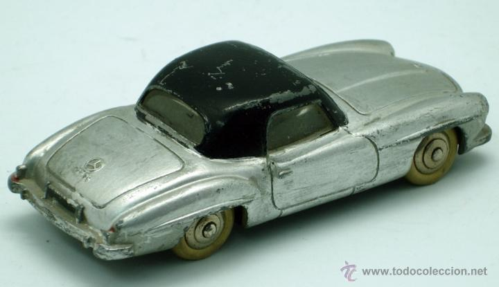 Coches a escala: Mercedes 190 SL Dinky Toys Meccano 1/43 Made in France repintado - Foto 2 - 43074001