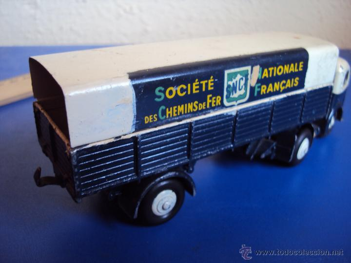 Coches a escala: (JU-535)CAMION CON REMOLQUE DINKY TOYS,SOCIETE NATIONALES DE CHEMINS DE FER FRANCAIS - Foto 4 - 43253955