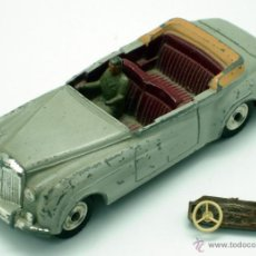 Coches a escala: BENTLEY S2 DINKY TOYS MECCANO 1/43 MADE IN FRANCE. Lote 43401638