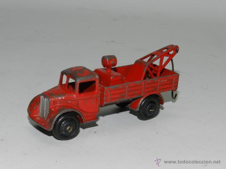 Coches a escala: ANTIGUO DINKY TOYS Grua Breakdown Truck Roja de 1935. Con gancho oscilante de enganche. - Foto 2 - 44081772