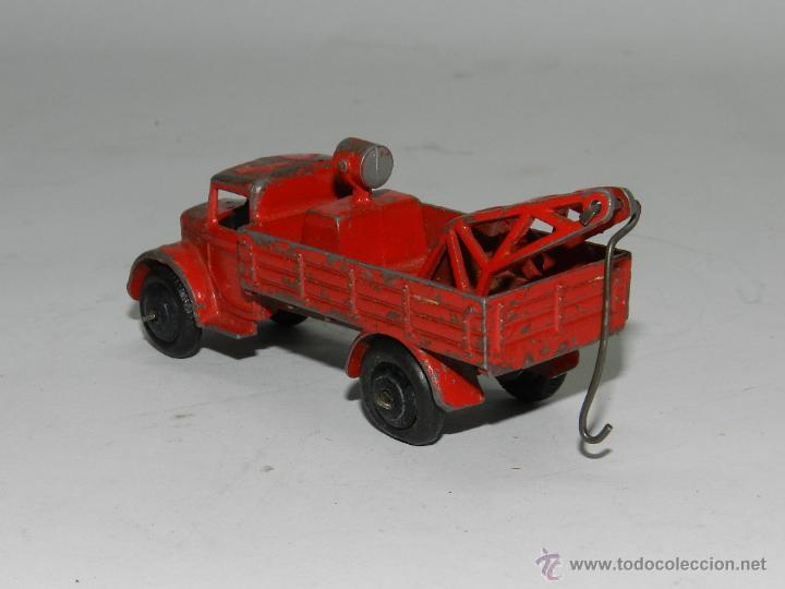 Coches a escala: ANTIGUO DINKY TOYS Grua Breakdown Truck Roja de 1935. Con gancho oscilante de enganche. - Foto 3 - 44081772