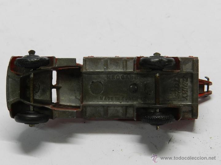 Coches a escala: ANTIGUO DINKY TOYS Grua Breakdown Truck Roja de 1935. Con gancho oscilante de enganche. - Foto 4 - 44081772