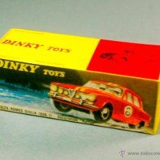 Coches a escala: DINKY TOYS 1401 - ALFA ROMEO GIULIA 1600 TI RALLY - CAJA VACÍA REPRO / REPRODUCCION NUEVA SIN USAR. Lote 47666343